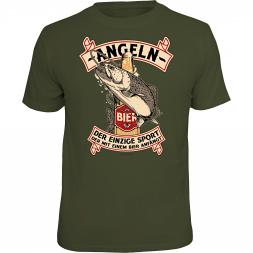 "Rahmenlos Herren T-Shirt ""-Angeln-"""