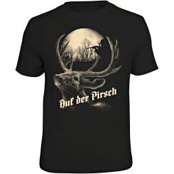 """Rahmenlos Herren T-Shirt """"Auf der Pirsch"""""""