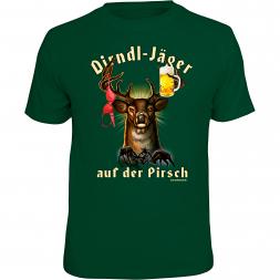 "Rahmenlos Herren T-Shirt ""Dirndl-Jäger"""