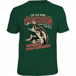 """Rahmenlos Herren T-Shirt """"Ein Tag ohne Fischen…"""""""