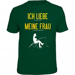 """Rahmenlos Herren T-Shirt """"Ich liebe meine Frau"""""""