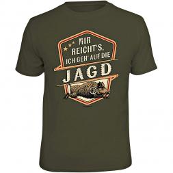 """Rahmenlos Herren T-Shirt """"MIR REICHT'S, ICH GEH' AUF DIE JAGD"""""""