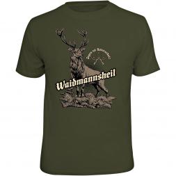 "Rahmenlos Herren T-Shirt ""Waidmannsheil"""