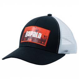 Rapala Trucker Cap (schwarz/rot)