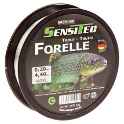 Sänger Zielfischschnur SensiTec Forelle (klar, 400 m)