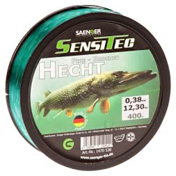 Sänger Zielfischschnur SensiTec Hecht (dunkelgrün, 400 m)