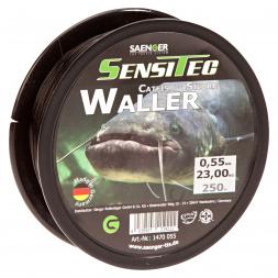 Sänger Zielfischschnur SensiTec Waller (dunkelbraun)