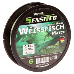 Sänger Zielfischschnur SensiTec Weißfisch (grün transparent, 400 m)