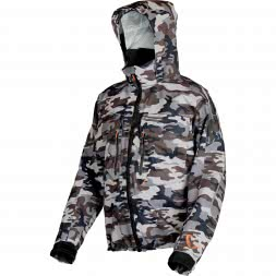 Savage Gear Herren Outdoor-Jacke Camo Jacket