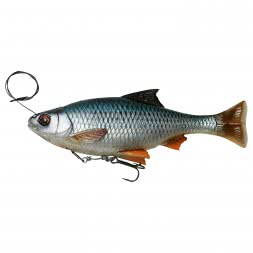 Savage Gear Swimbait 4D Line Thru Pulse Tail Roach (Roach)