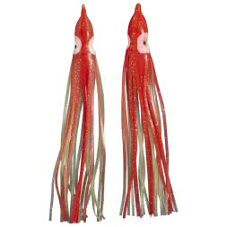 Seapoint Softbait Luminous Oktopus (Rot)