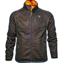 Seeland Herren Fleece-Wendejacke Kraft