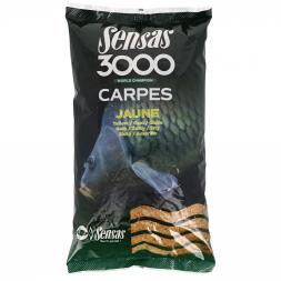 Sensas 3000 Grundfutter Carpes (gelb)