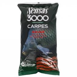 Sensas 3000 Grundfutter Carpes (rot)