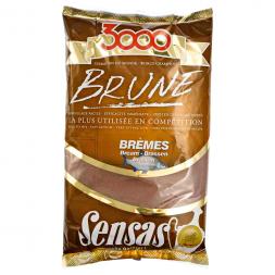 Sensas Friedfischfutter 3000 Brune Brassen