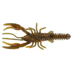 "ShadXperts Baby Crawfish 3"" Craw Orange Swirl"