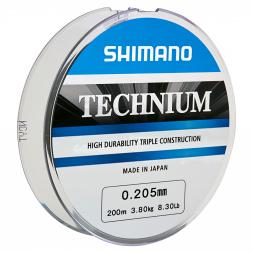 Shimano Angelschnur Technium (dunkelgrau, 300 m)