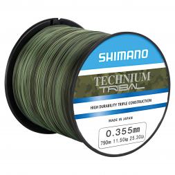 Shimano Angelschnur Technium Tribal (camouflage)