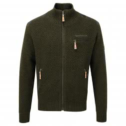 Shooterking Herren Strickjacke BUSH