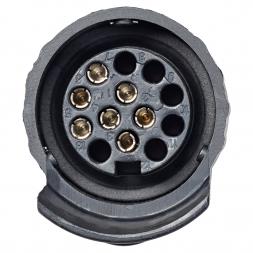 Short Adapter Mini 7- to 13- pole