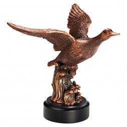 Skulptur Ente