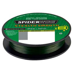 Spiderwire Angelschnur Stealth Smooth 8 (Moss Green, 300 m)