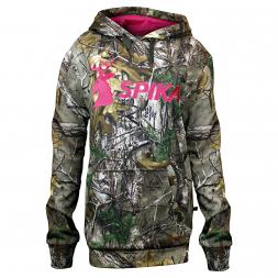 Spika Damen Hoodie (pink/camouflage)