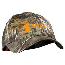 Spika Unisex Kappe (Camo/orange)