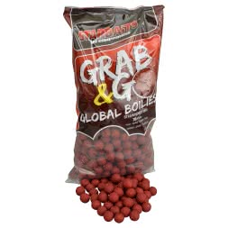 Starbaits Boilies G&G Global (Strawberry Jam)
