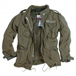 Surplus Herren Outdoor-Jacke M65 Regiment (oliv)
