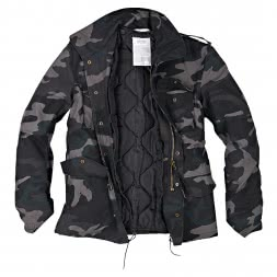 Surplus Herren US Fieldjacket Parka (Blackcamo)