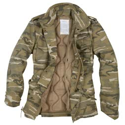 Surplus Herren US Fieldjacket Parka (Desertlight)