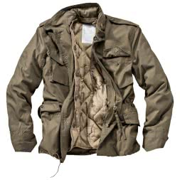 Surplus Herren US Fieldjacket Parka (Oliv)