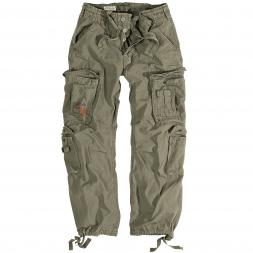 Surplus Herren Vintage Trousers Airborne (oliv)