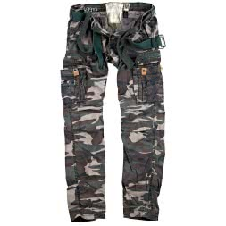 Surplus Herren Vintage Trousers Premium (woodland)