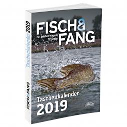 """Taschenkalender 2019 von """"Fisch & Fang"""""""