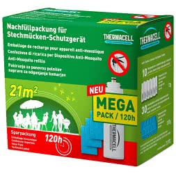 Thermacell Nachfüllpackung für Stechmücken-Schutzgerät