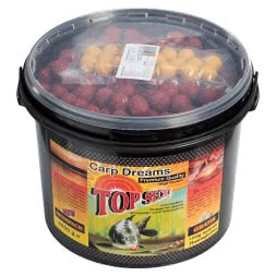 Top Secret Boilies + 50 g Floaters gratis