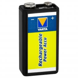 Varta Rechargeable Power Akku NiMh Block HR 6F22 9 Volt 170 MAh