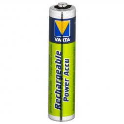 Varta Rechargeable Power Akku NiMh Micro HR03/AAA 1,2 Volt 800 MAh