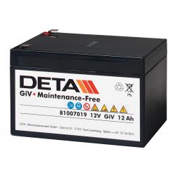 Vliesbatterie BTG (12 V / 12 Ah)