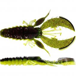Westin Creature Bait Crecraw (Black Chartreuse)