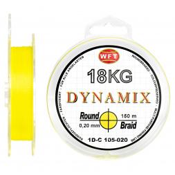 WFT Angelschnur Dynamix Round Braid (gelb)