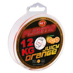 WFT Angelschnur Plasma Round Braid (Juicy Orange)
