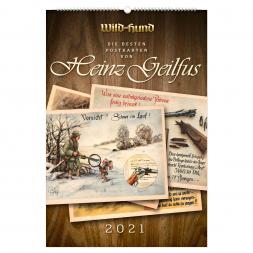 WILD UND HUND Edition: Die besten Postkarten von Heinz Geilfus Kalender 2021