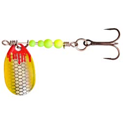 Zebco Magic Trout Bloody UL-Spinner (perl/gelb)