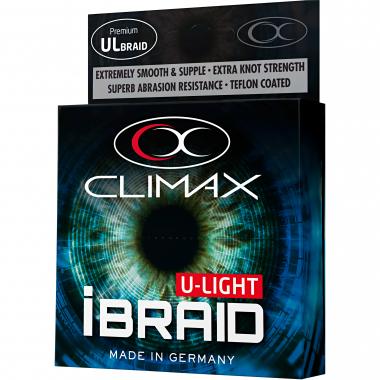 Climax Angelschnur iBraid U-Light (fluopurple, 275 m)