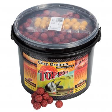 Top Secret Boilies + 50 g Floaters gratis