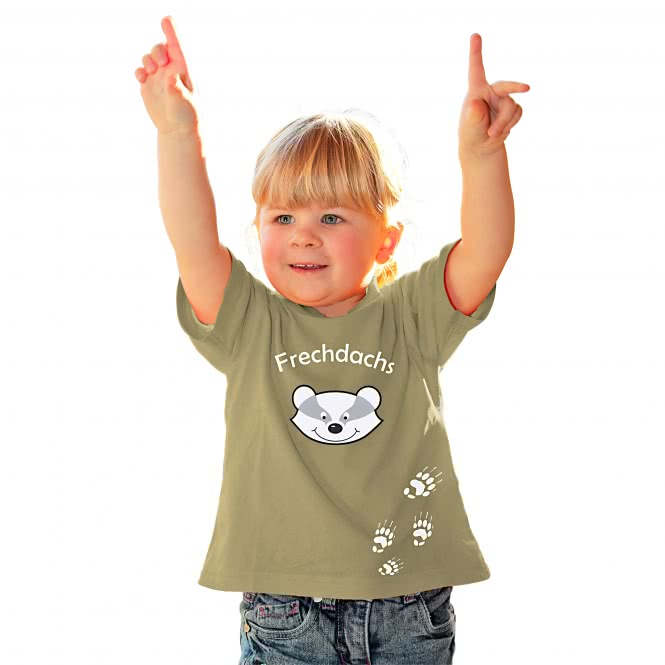 kinder t shirt frechdachs g nstig kaufen askari jagd shop. Black Bedroom Furniture Sets. Home Design Ideas