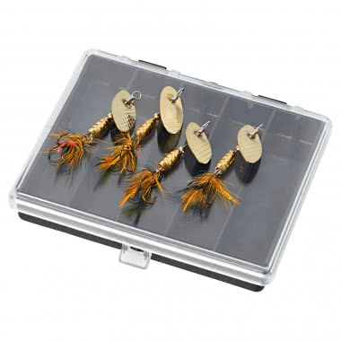 Kogha Fliegen-Spinner-Set, gold